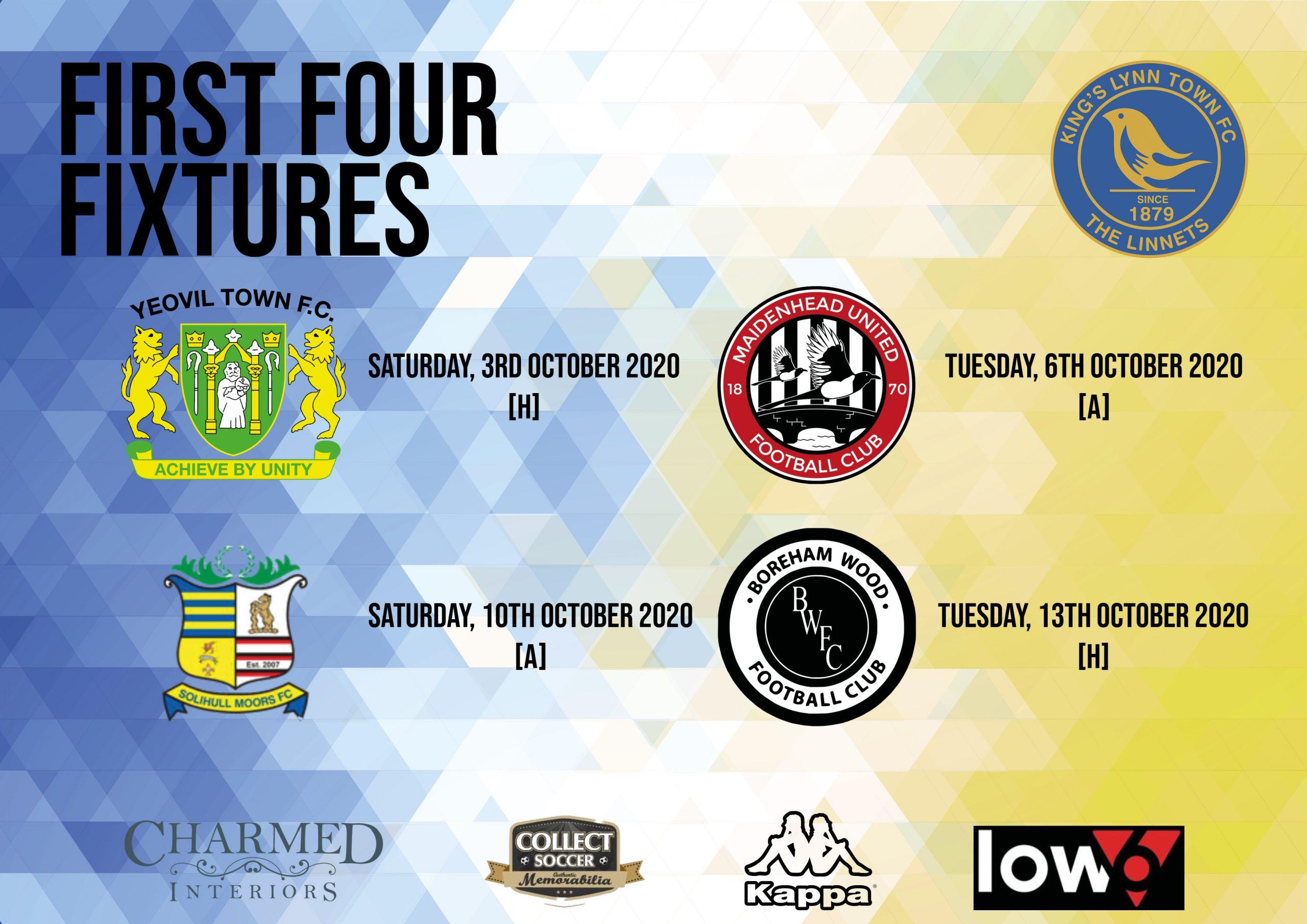 First Four Fixtures