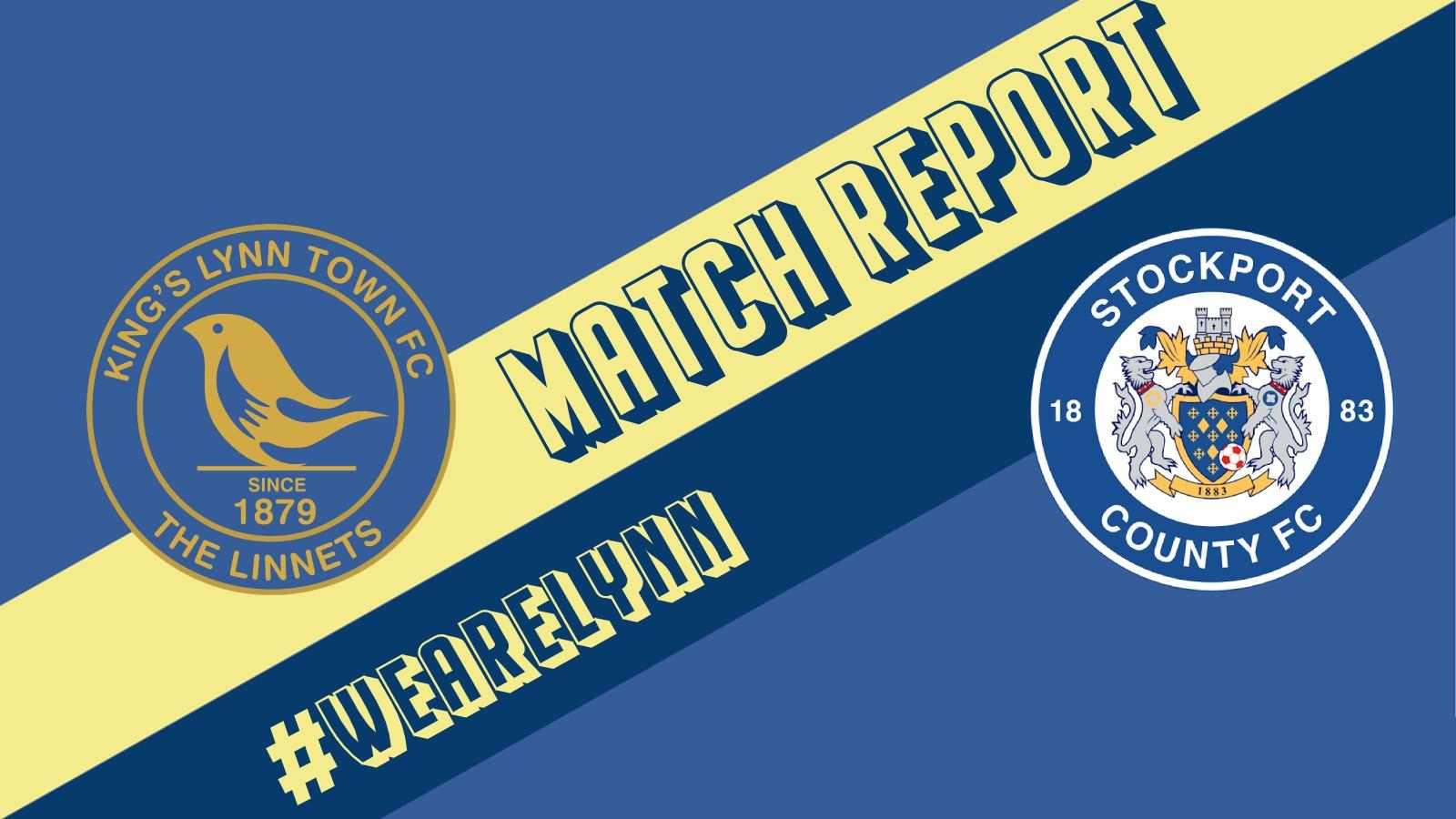 MATCH REPORT STOCKPORT